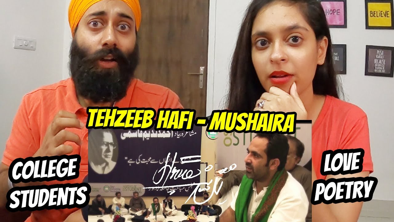 Download Reacting to Tehzeeb Hafi   University of Lahore   2nd Mushaira Reaction