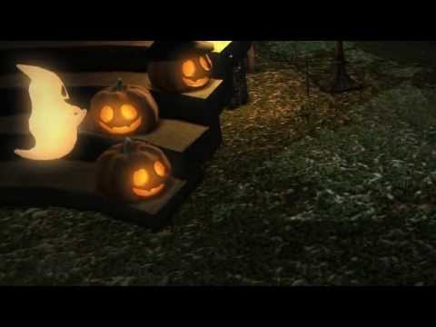 Amateur Camera Zoom Halloween Decoration pumpkins FFXIV