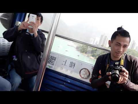 Nyong Ping 360 Cable Car Lantau Island Hongkong April 2018
