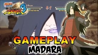 Naruto Shippuden Ultimate Ninja Storm 3 - X360 / PS3 - Madara Gameplay