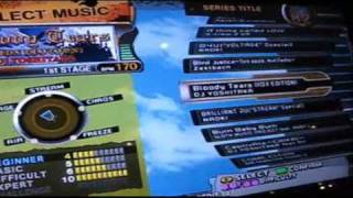 Update Video On Dance Dance Revolution X @ Trocadero Funland London 2010