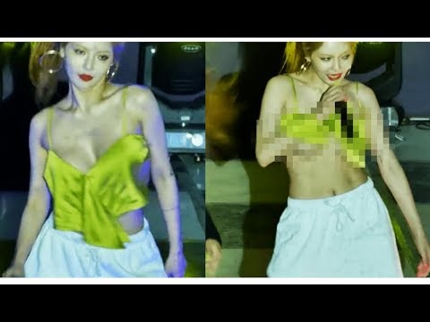Hyuna Almost Faced A Dangerous Wardrobe Malfunctionduring Recent Performances