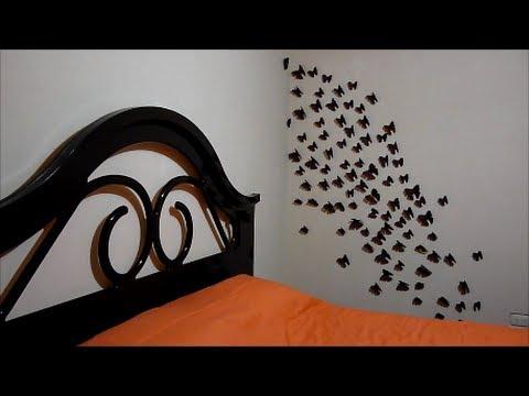 Manualidades con papel decoraci n de habitaciones - Habitaciones con papel ...