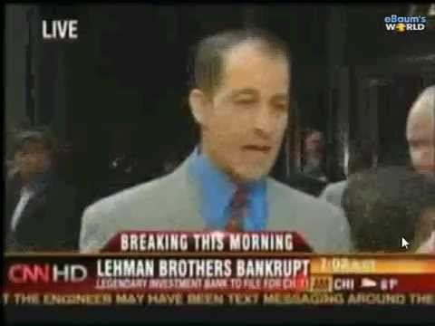 lehman brothers failure questions As we all know, the 2008 financial crisis began in earnest when lehman brothers  filed for bankruptcy it has always been a question why.