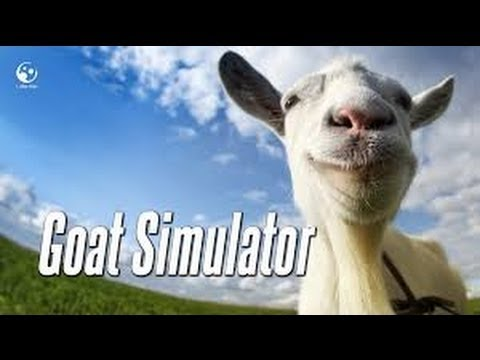 """""""I Can Fly!"""" Goat Simulator ep.1"""