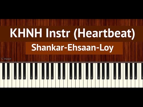 "How To Play ""Kal Ho Naa Ho"" Instrumental by Shankar-Ehsaan-Loy | BollyPiano Tutorial"