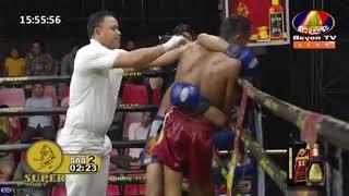 ជ័រ ពៅ Vs ឡុង ស៊ីថេត, Bayon TV Boxing, 19/May/2018 | Khmer Boxing Highlights
