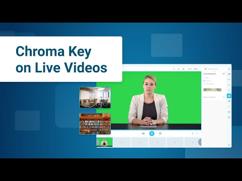 How To Replace Your Background On Live Videos   Chroma Key Tutorial   ManyCam 7