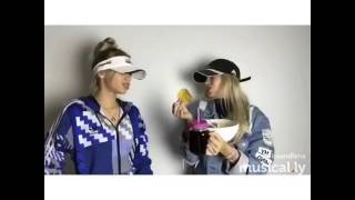 Lisa and Lena Funny Musical.ly's! NEW