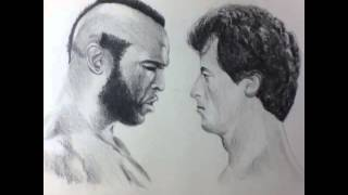 Rocky III Time lapse speed drawing