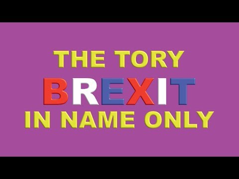 Tories About to Deliver Brexit In Name Only!