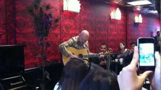 "Billy Corgan ""By Starlight"" at Madame Zuzu's 9/13/12"