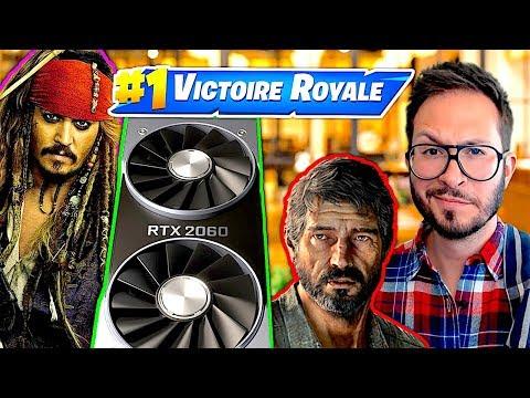 Nvidia RTX 2060, multi de Last of Us 2, fortune du père de Fortnite...