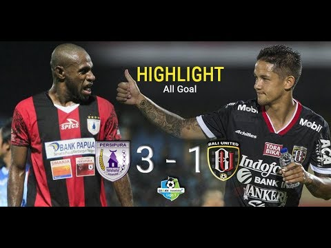 Persipura 3 - 1 Bali United | Highlight - All Goal | Liga 1 GO-JEK TRAVELOKA 2017
