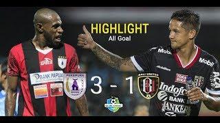 Persipura 3 - 1 Bali United   Highlight - All Goal   Liga 1 GO-JEK TRAVELOKA 2017