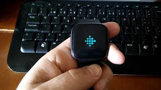 FitBit Versa 2 not responding to touch events