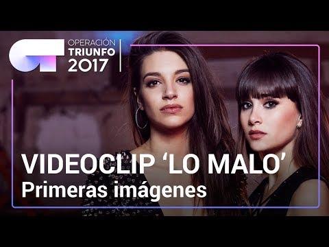 VIDEOCLIP de † LO MALO † : Primeras imágenes