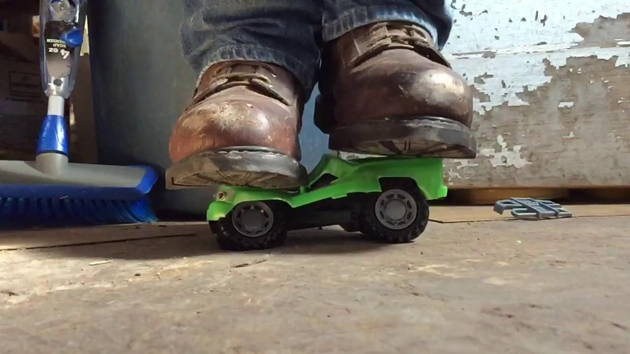 Worx Boots Vs Silverado Toy Truck Youtube
