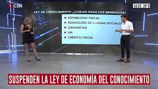 ¿Qué pasó con la Ley de Economía del Conocimiento?