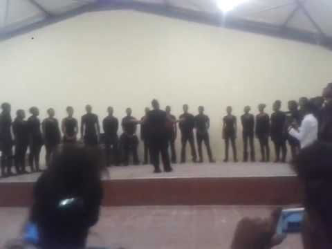 Karibib junior choir