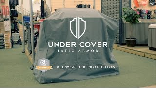Large Gas BBQ Cover - Under Cover Protect