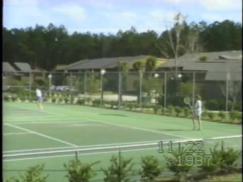 Disney World - 1986, Tennis Match - 1987