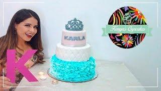 3 TECNICAS EN FONDANT | Kenyas Cupcakes