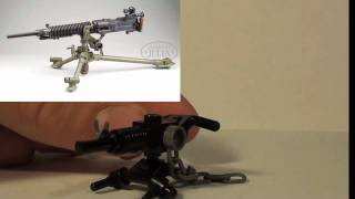 How To Make a Lego Japanese Type 92 machine-gun TheLegoManiacs
