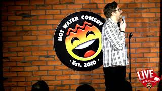 Daniel Wright LIVE at Hot Water Comedy Club
