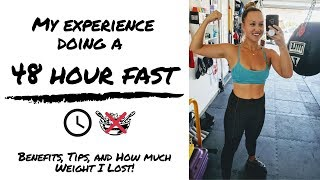 My 48 Hour Fast: Benefits, Tips, My Mistakes & How Much Weight I Lost!