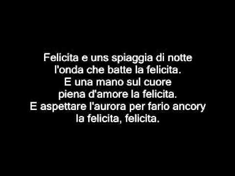Με μια ματιά - Felicita - Al Bano & Giannis Ploutarxos (+lyrics)