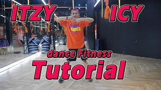 ITZY - ICY | TUTORIAL | Dance Fitness By Golfy | Give Me Five Thailand | คลาสเต้นออกกำลังกาย