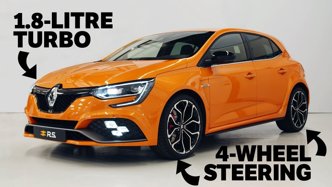 2018 renault megane rs: the new type r slayer? - youtube
