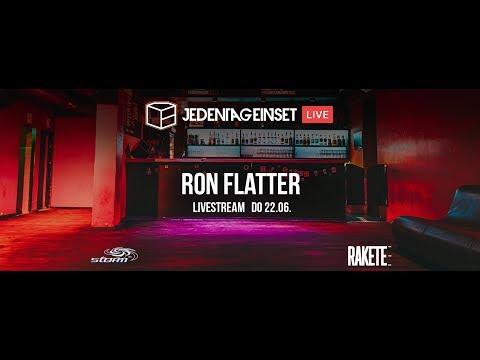 Jeden Tag ein Set LIVE: Ron Flatter