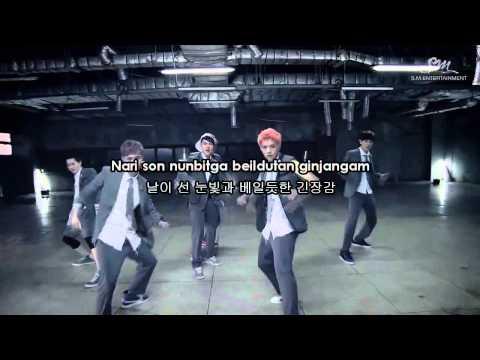 EXO-K (엑소케이) - Growl (으르렁) Karaoke