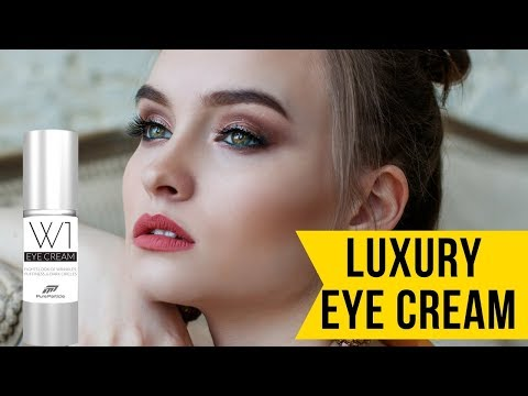 Best Treatment for Under Eye Bags | W1 Eye cream treatment