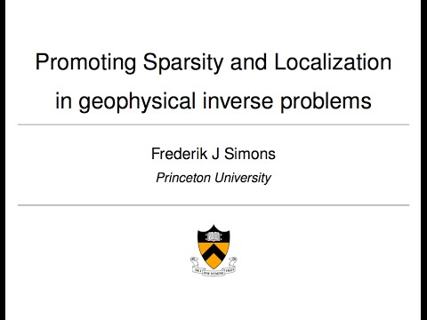 Frederik Simons - 01/18/2013 - Lecture at the University of Oxford