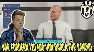 Wir fordern 120 Mio von Barca für Jaden SANCHO! - Fifa 19 Karrieremodus Juventus Turin 154
