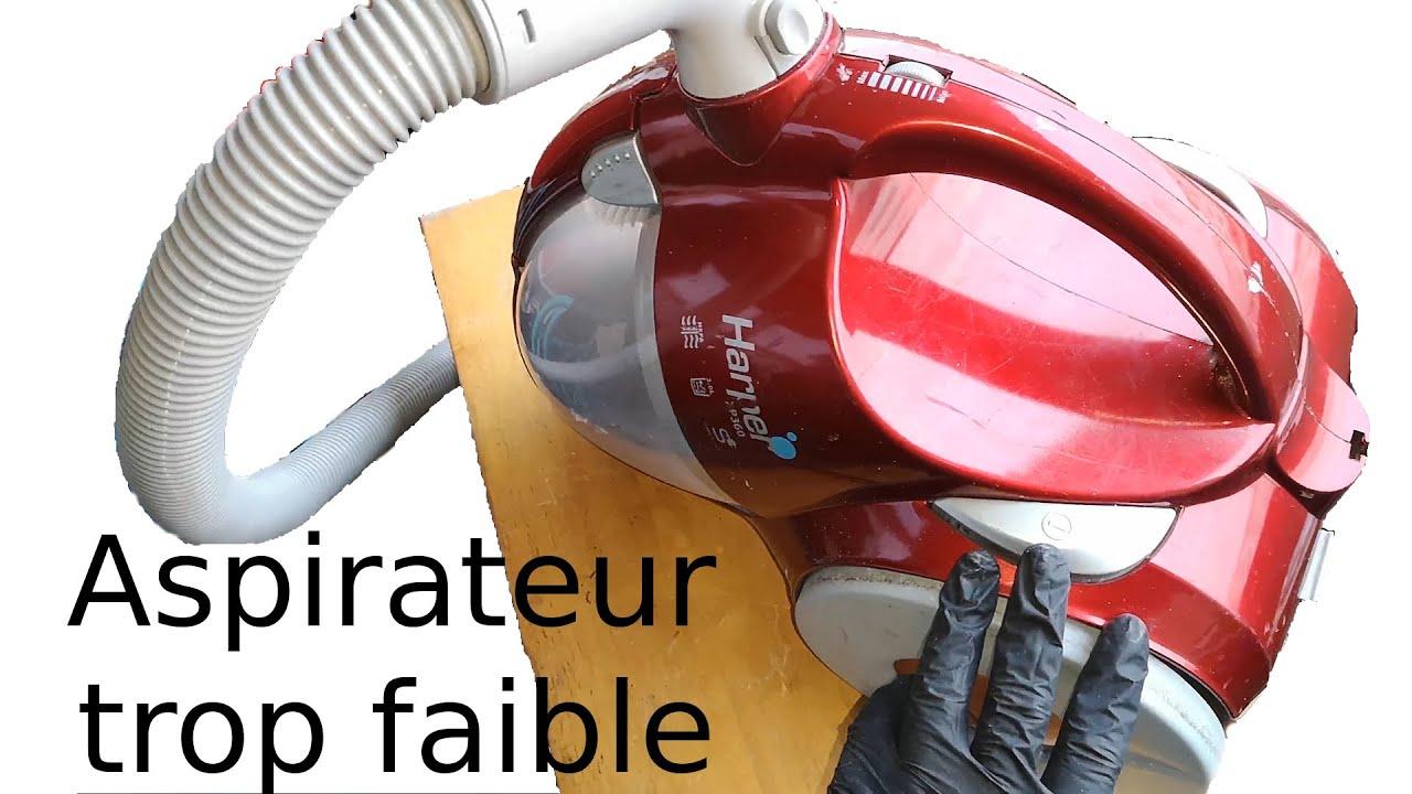 Download Comment réparer un aspirateur qui tourne trop peu vite, qui a perdu sa puissance, qui aspire mal