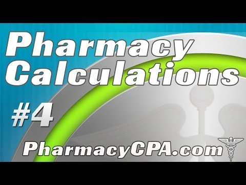 GPhC Exam Pharmacy Calculations