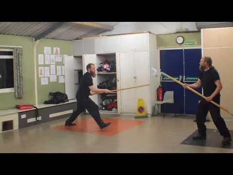 Long Spear and Billhook. English Martial Arts