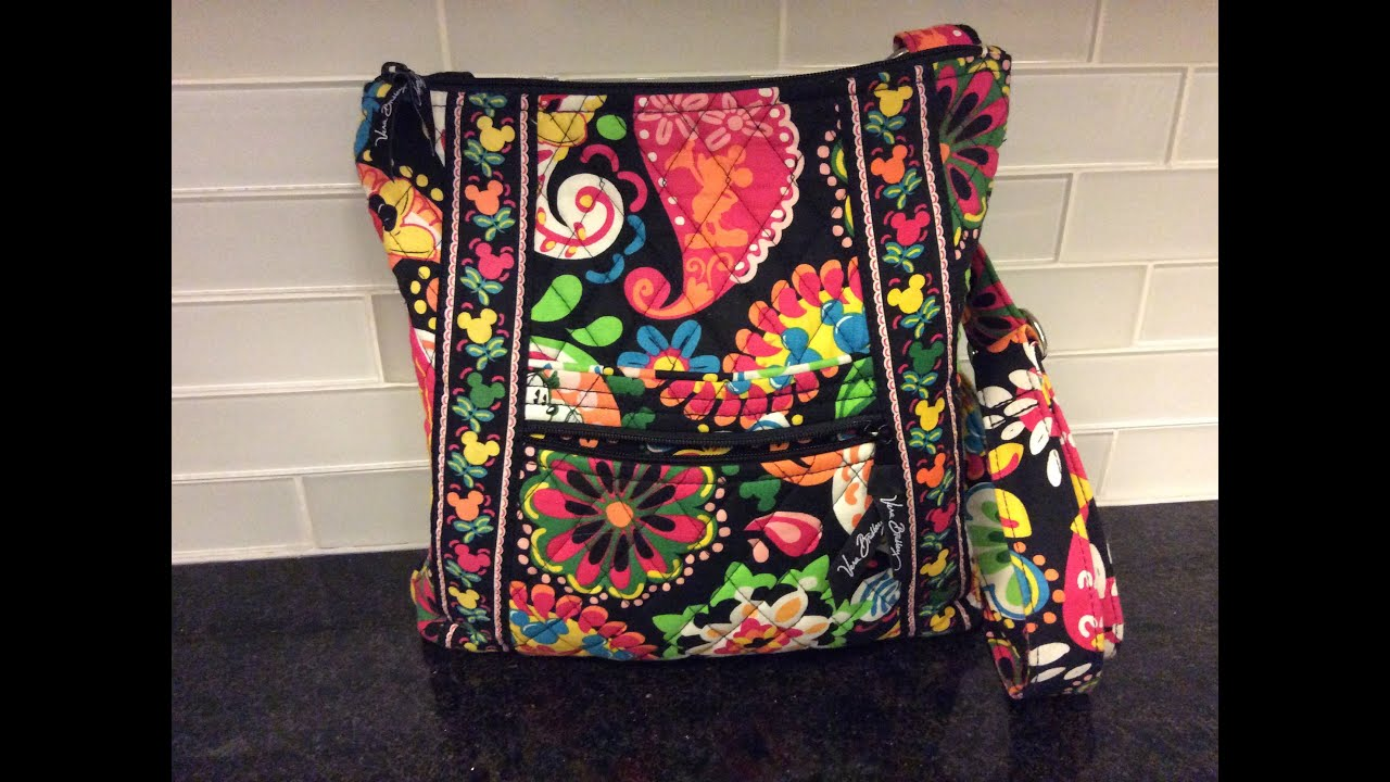 Vera Bradley Midnight With Mickey Hipster Review