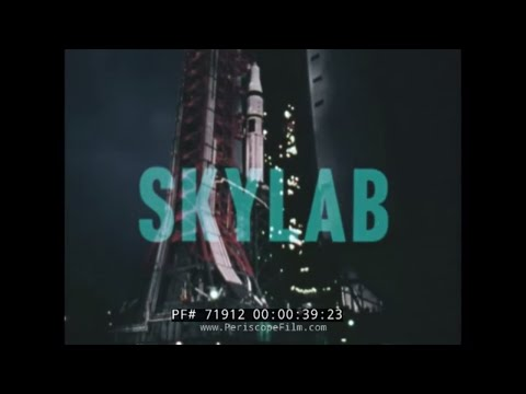 NASA SKYLAB SPACE STATION PUBLICITY FILM 71912