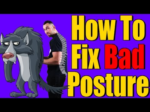 How to fix bad posture | FIX your posture in 4 MIN!!! | Improve Your Posture