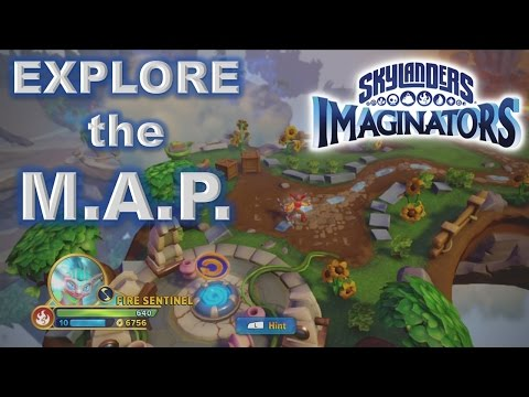 Skylanders Imaginators - Explore the M.A.P. - Walk-Through