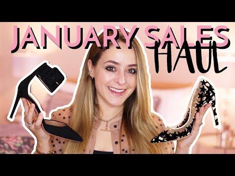 January Sales Haul: FINDS & FAILS!   Fleur De Force