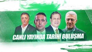 Dört büyük kulübün başkanları Habertürk TV'de soruları yanıtlıyor
