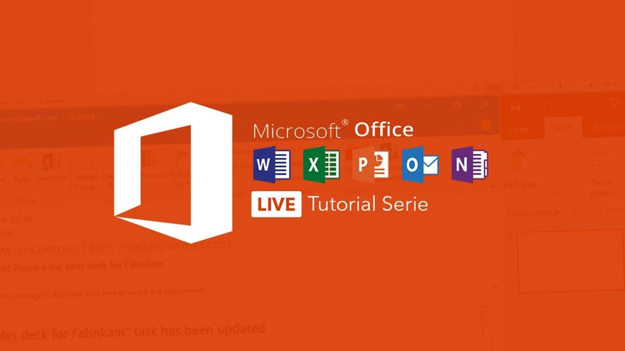 Microsoft Word Grundkurs Fur Anfanger Alles Was Du Wissen Musst Microsoft Office Tutorial Serie Youtube