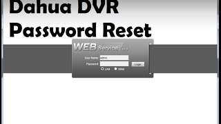 Dahua Admin Account Password Resetter Process !!!(, 2016-12-14T10:54:29.000Z)