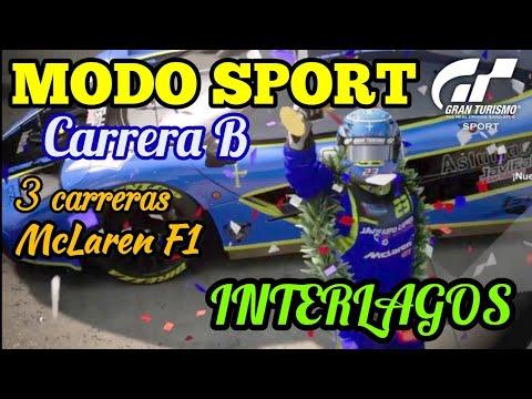 "Gran Turismo Sport - Modo Sport | Carrera B - 3 carreras con McLaren F1 - Me hago un ""JaviFabio"" !! thumbnail"